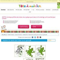 Imprimer visuels pour livre sur la grenouille