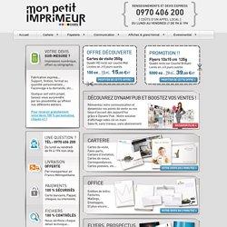 Avec Mon Petit Imprimeur à Lyon, obtenez des devis d'imprimerie moins chers et commandez vos impressions en 2 min.