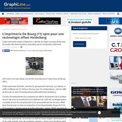 L'imprimerie De Bourg (11) opte pour une technologie offset Heidelberg