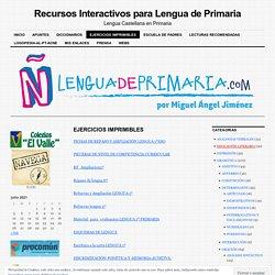 Recursos Interactivos para Lengua de Primaria