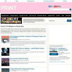Imprint-The Online Community for Graphic Designers — Expanding the Design Conversation