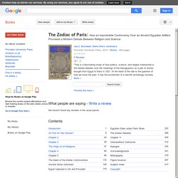 The Zodiac of Paris - search book for ISIS - 17 good looking mentions