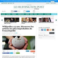 Wikipedia a 15 ans, découvrez les articles les plus improbables de l'encyclop...