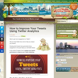 How to Improve Your Tweets Using Twitter Analytics