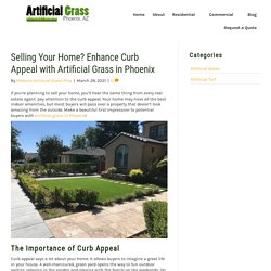 Improve Your Home's Curb Appeal with Artificial Grass in Phoenix