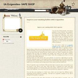 ecigarettes company UK