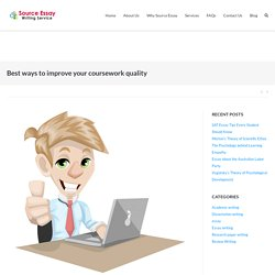 Best ways to improve your coursework quality