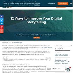 12 Ways to Improve Your Digital Storytelling