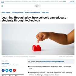 How to improve education with play and tech