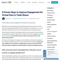 8 Proven Ways to Improve Engagement for Virtual Fairs & Trade Shows