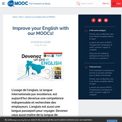 Improve your English with our MOOCs!