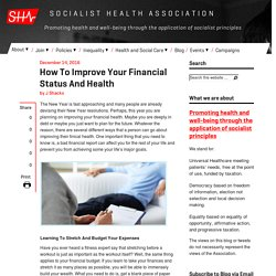 How To Improve Your Financial Status And Health