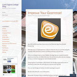 Cork English College Blog