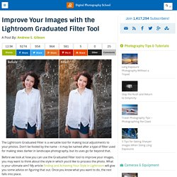 Improve Your Images with the Lightroom Graduated Filter Tool
