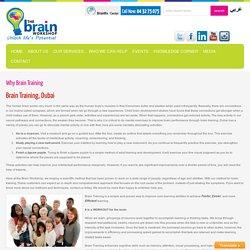 Brain Training in Dubai