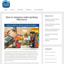 How to improve order picking efficiency
