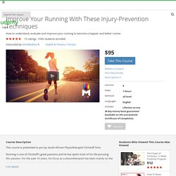 Improve Your Running With These Injury-Prevention Techniques
