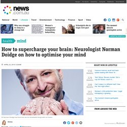Improve memory recall and learn speed reading with these 'brain supercharge' hacks