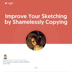Improve Your Sketching by Shamelessly Copying — Work and Words