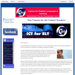 Improve your ICT Skills - Become a 21st Century Teacher