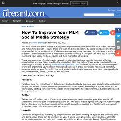 How To Improve Your MLM Social Media Strategy