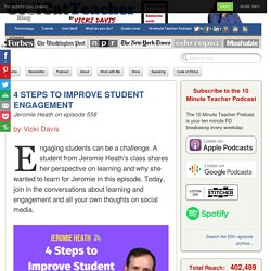 4 Steps to Improve Student Engagement