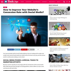 How to Improve Your Website's Conversion Rate with Social Media?