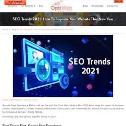 SEO Trends 2021: How To Improve Your Website This New Year