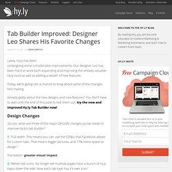 Tab Builder | Hy.ly
