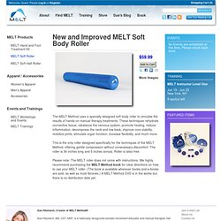 New and Improved MELT Soft Body Roller