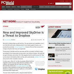 New and Improved SkyDrive Is a Threat to Dropbox