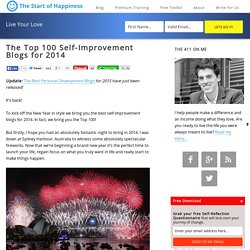 The Top 100 Self-Improvement Blogs for 2014