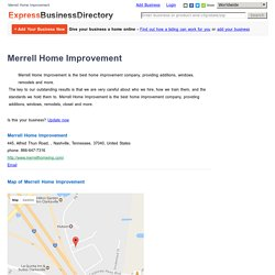 Merrell Home Improvement