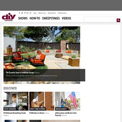DIY Network - Home Improvement How-To & Remodeling Projects