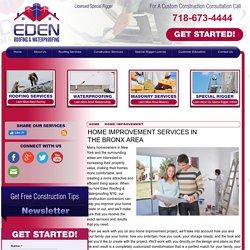 Bronx area Home Improvement Contractor