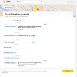 Royal Home Improvements Mississauga