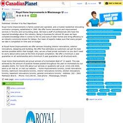 Royal Home Improvements - Basement Contractors Toronto