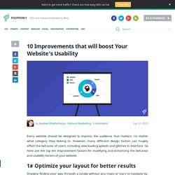 10 Improvements that will boost Your Website's Usability