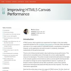 Improving HTML5 Canvas Performance