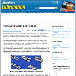 Improving Chain Lubrication