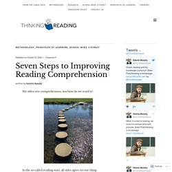Seven Steps to Improving Reading Comprehension