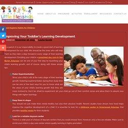 Improving Your Toddler's Learning Development