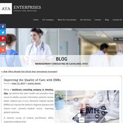 Improving the Quality of Care with EMRs