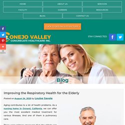 Improving the Respiratory Health for the Elderly