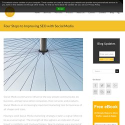 Four Steps to Improving SEO with Social Media - PPG Web Solutions