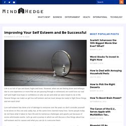 Improving Your Self Esteem and Be Successful