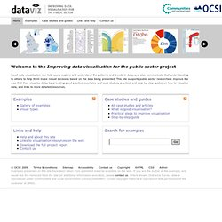 Improving data visualisation for the public sector