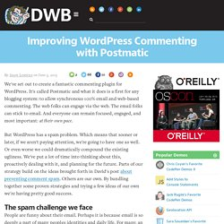 Improving WordPress Commenting with Postmatic