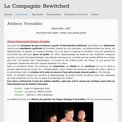 La Compagnie Bewitched - Versailles
