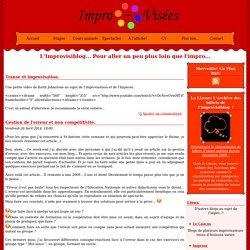 Blog ImproViser